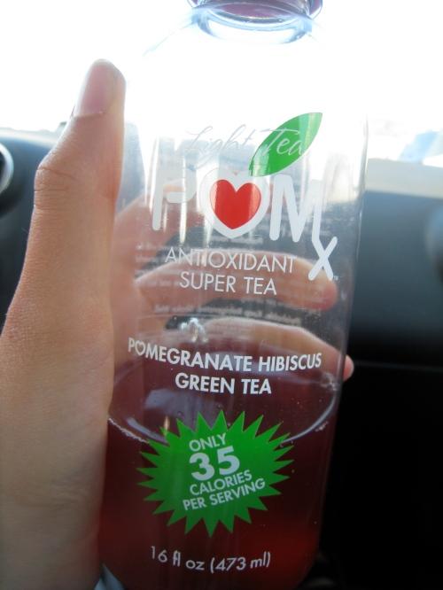 POMx Pomegranate Hibiscus Green Tea