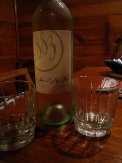 2008 1883 Pinot Grigio