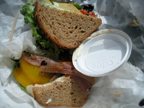 Mayo Veggie Sandwich