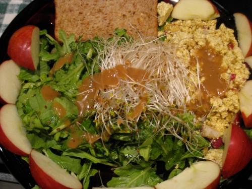 Curried Tofu Salad
