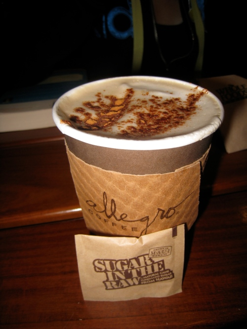 Skim Au Lait w/ Espresso