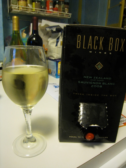 Black Box Wine- Sauvignon Blanc