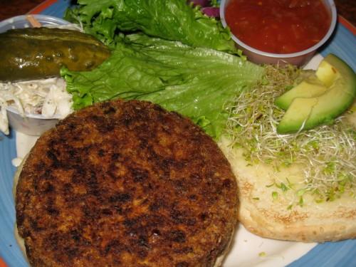 Manhattan Diner California Veggie Burger