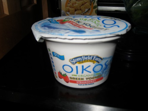 strawberry oikos