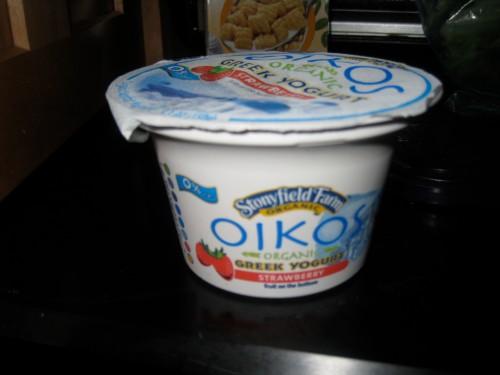 strawberry oikos