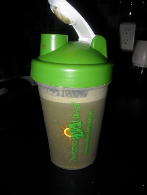 Amazing Grass shake