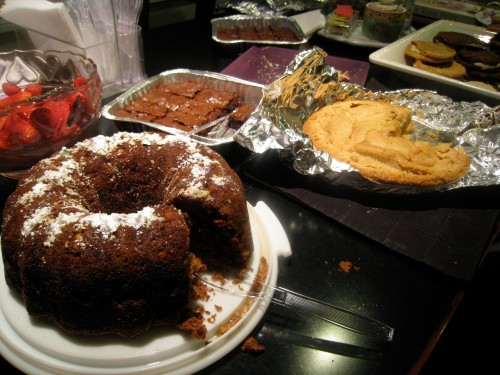 Rosh Hoshana desserts