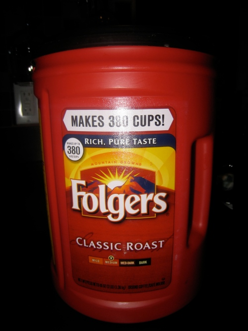 Folgers Tub