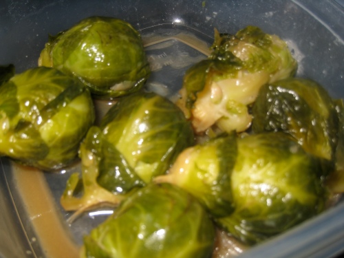 Brown Sugar Brussels Sprouts