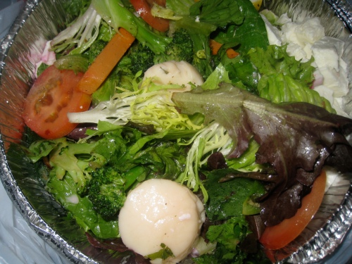 Scallop Dinner Salad