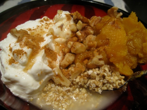 Butternut Pie Oats