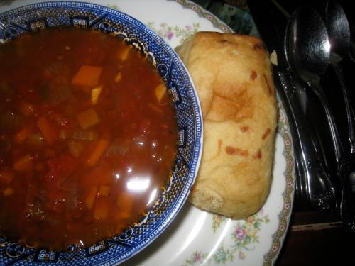 Lentil Soup Light Fare