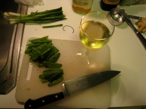 Food Prep + Wine