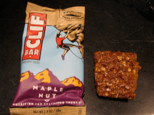 Maple Nut Clif Bar