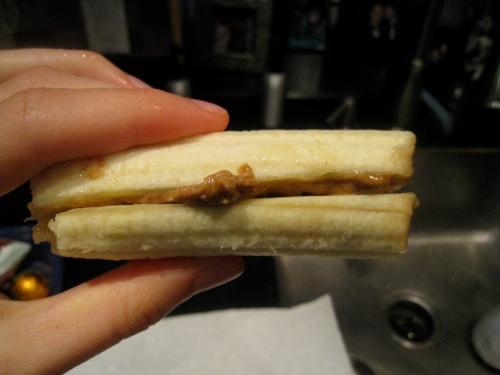 Banana w/ Almond Butter