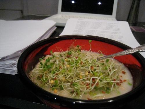White Bean Soup Re-mixed