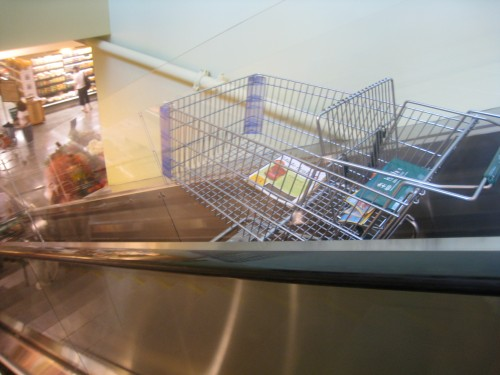 WF escalator cart