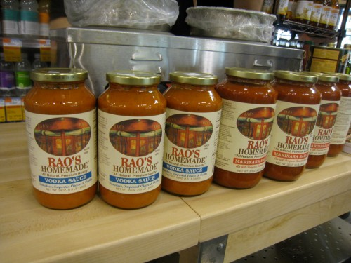 Rao's Pasta sauces