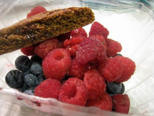 Berry & Biscotti Dessert