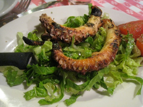 Uncle George's Grilled Octopus