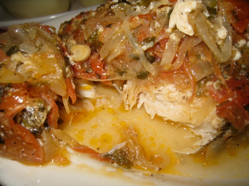 Uncle George's baked fish #2