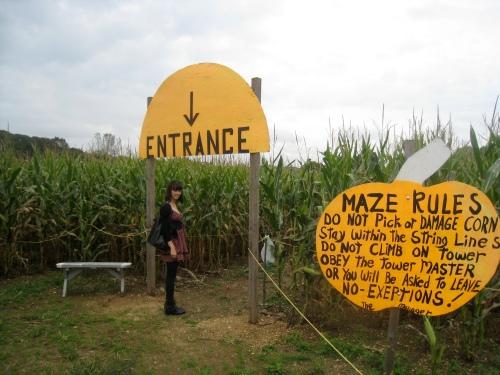 Corn Maze Rules