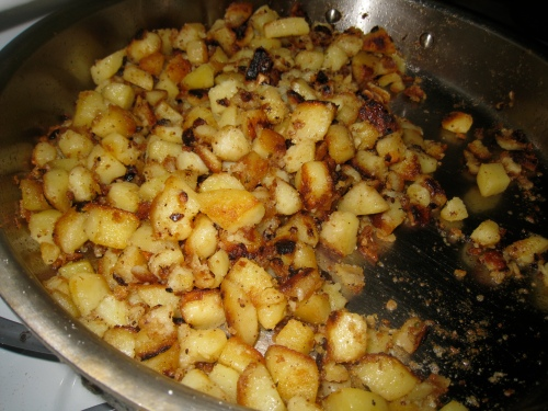 Spicy Ginger Potatoes