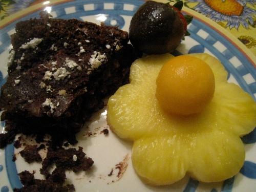 Cake & Fruit
