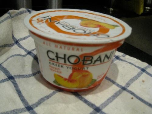 Peach Chobani 1