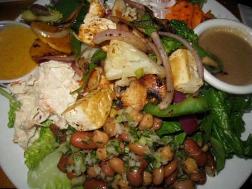 Quantum Leap Tofu Veggie Salad 1