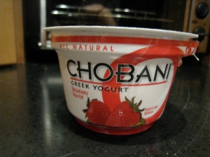Strawberry Chobani
