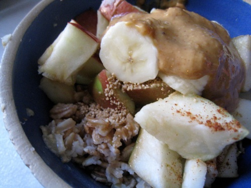 Apple Nut Oats 2