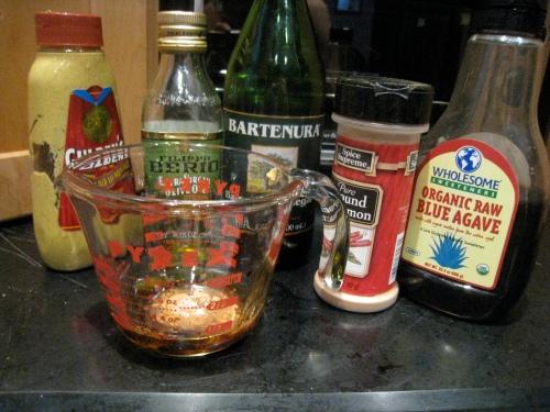 Agave Cinnamon Vinaigrette