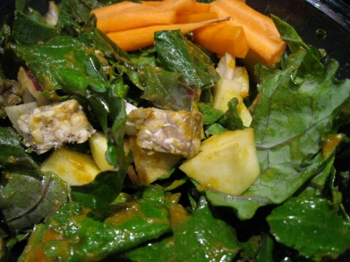 Pumpkin Miso Salad