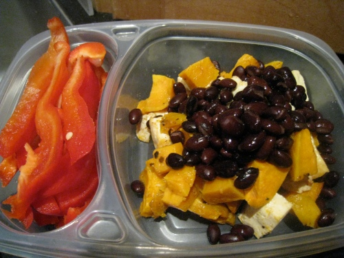 Sweet Potatoes, Black Beans & Tofu