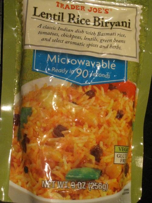 TJ's Lentil Rice Biryani