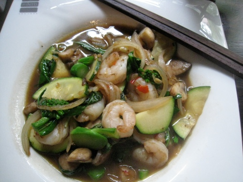 Thai Basil w/ Shrimp