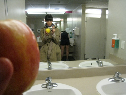 Apple at the gym
