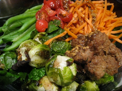 Salad with Brussels Sprouts