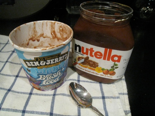 Ice Cream & Nutella