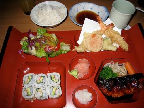 Salmon Teriyaki Bento Box