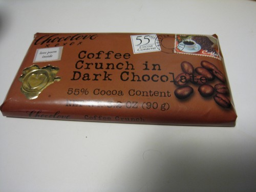 Coffee Crunch Chocolove