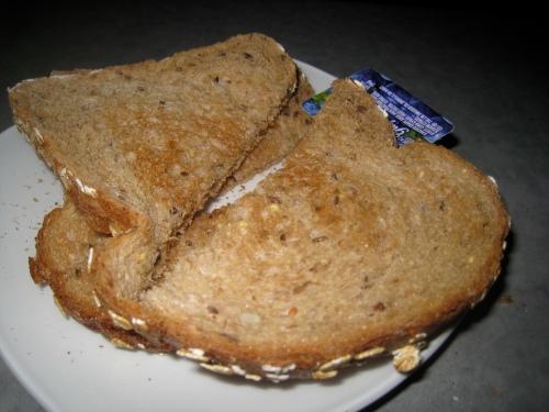 Diner toast
