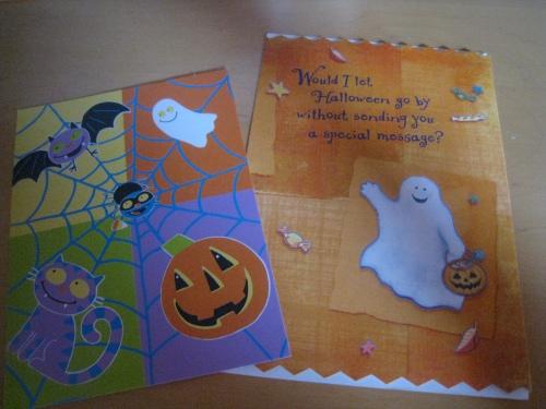 Halloween Snail Mail