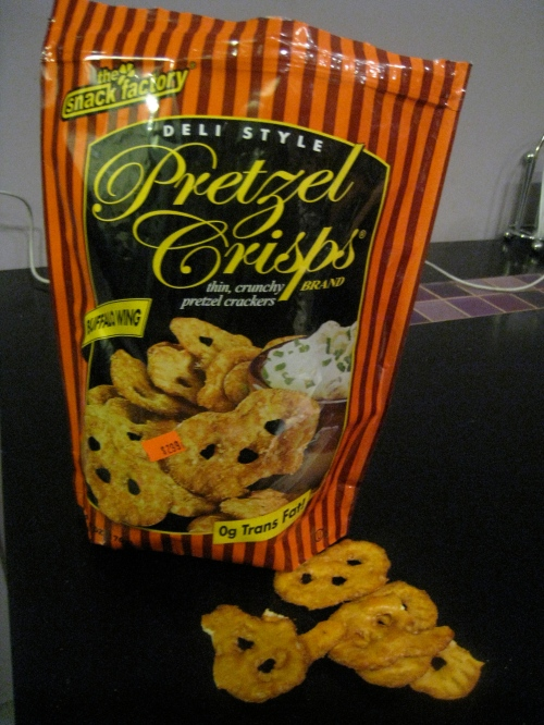 BBQ Wing Pretzel Crisps