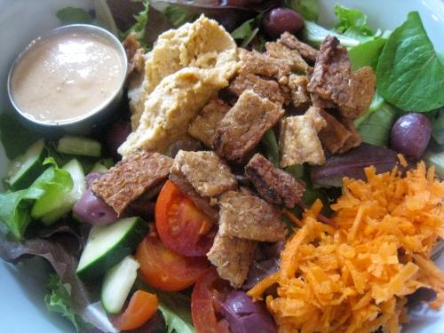 Jivamuktea Bacon Salad