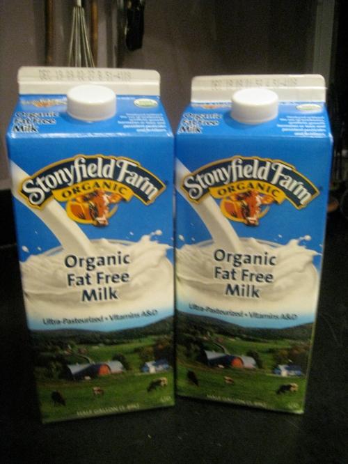 Stonyfield Organic Milk
