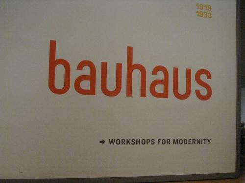 Bauhaus @ MoMA
