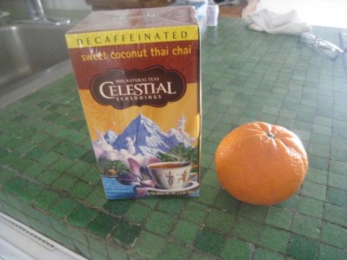 Tea & Clementine