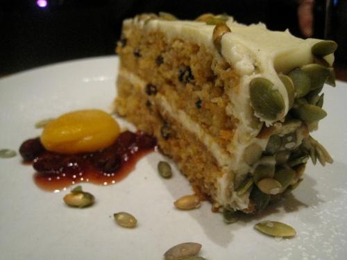 Butternut squash-Carrot cake